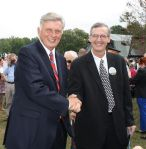 Governor Mike Beebe & Fairfield Bay mayor, Paul Wellenberger