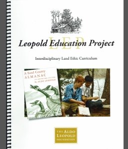 One of our favorite South Fork photos is featured on the cover of this curriculum guide!