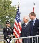 Bill Clinton at the JFK Overlook
