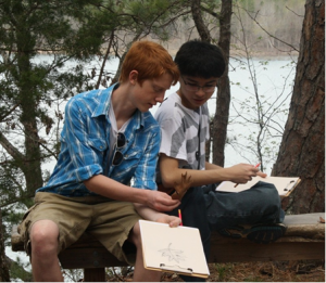 Students at SFNC