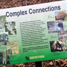 South Fork Nature Center Greers Ferry Lake AR - Eco-System Marker