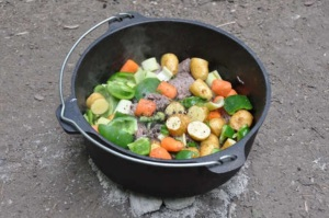 Dutch Oven Cooking at the Nature Center